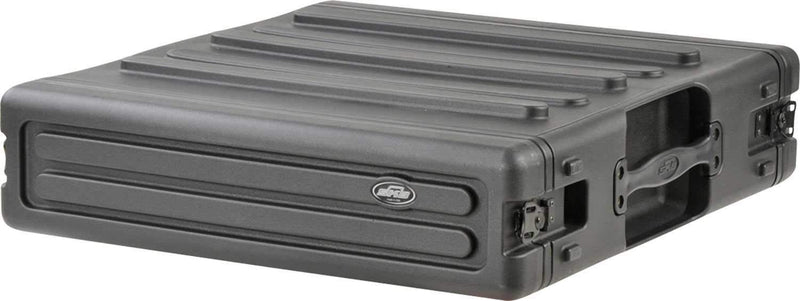 SKB 1SKB-R2U 2 Space Roto Molded Rack Case - PSSL ProSound and Stage Lighting