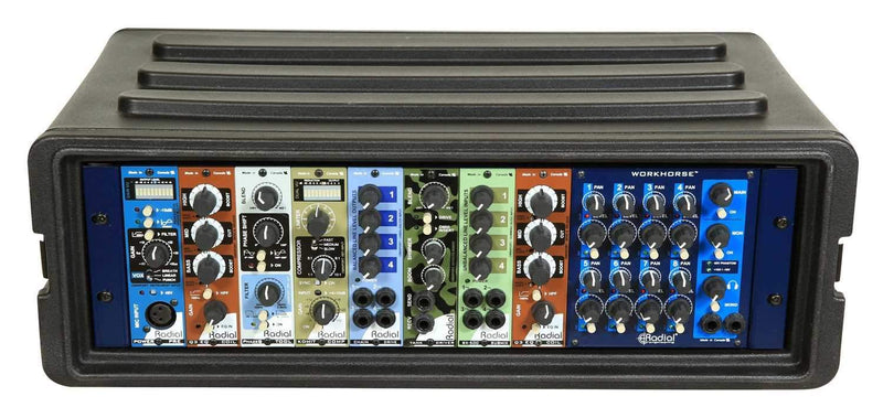 SKB 1SKB-R3S 3U Shallow Roto Rack with Steel Rails - PSSL ProSound and Stage Lighting