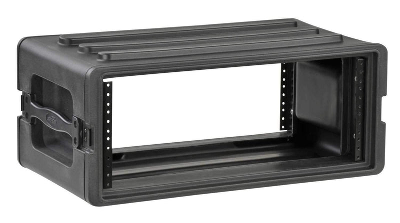 SKB 1SKB-R4S 4U Shallow Roto Rack with Steel Rails - ProSound and Stage Lighting