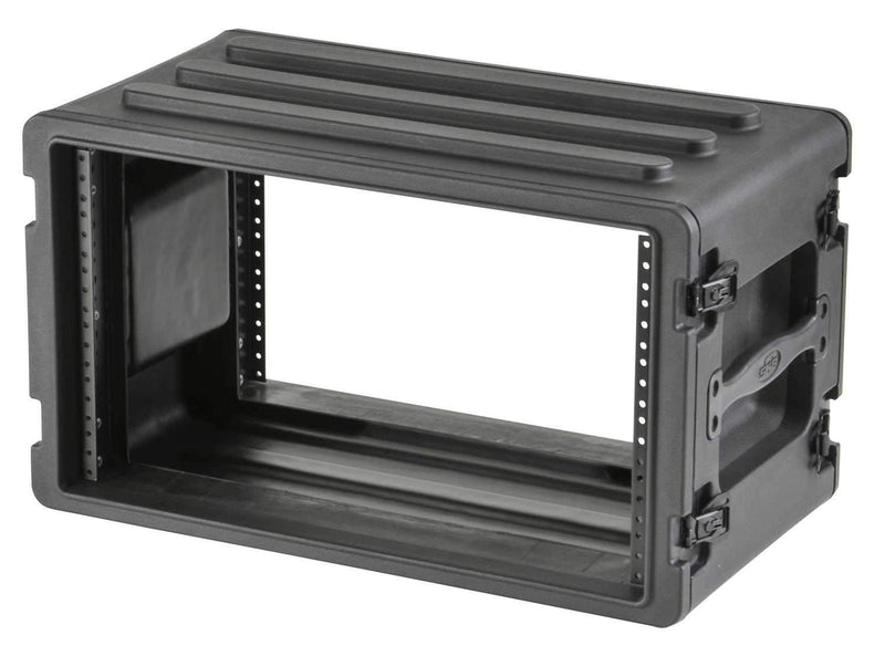SKB 1SKB-R6S 6U Shallow Roto Rack with Steel Rails - PSSL ProSound and Stage Lighting