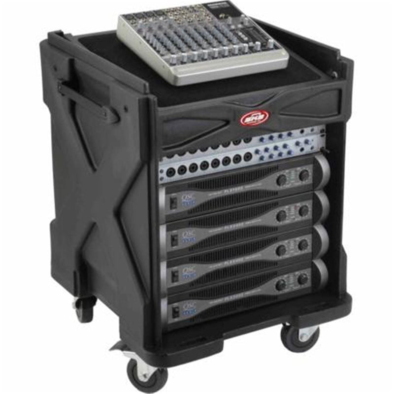 SKB 1SKB19-R1010V Roto-Mold Gig-Rig Case with Shelf - PSSL ProSound and Stage Lighting