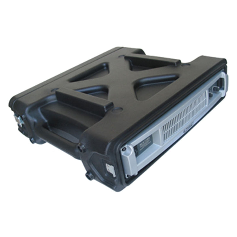 SKB 1SKB-R2 2U Roto-Molded Rack Rail Case - PSSL ProSound and Stage Lighting