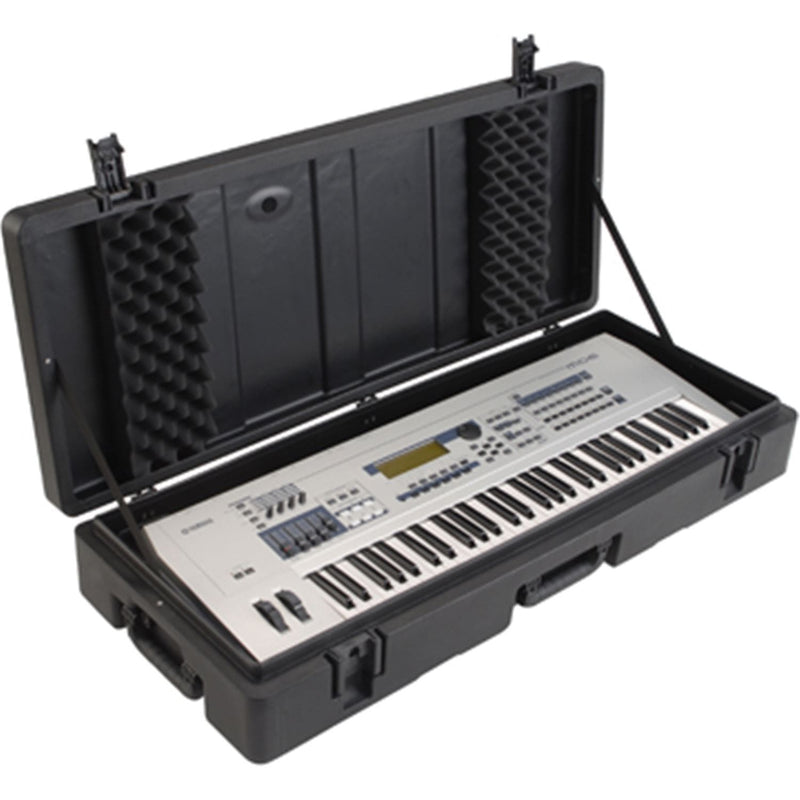 SKB 1SKBR4215W 61 Note Roto Molded Case with Wheels - PSSL ProSound and Stage Lighting