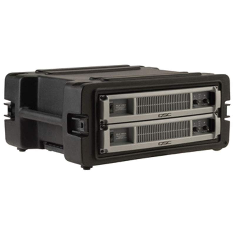 SKB 1SKBR4W 4U Space Rack with In Line Wheels - ProSound and Stage Lighting