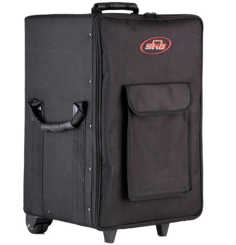 SKB 1SKB-SCPM1 Small Rolling Powered Speaker/Mixer Case - PSSL ProSound and Stage Lighting