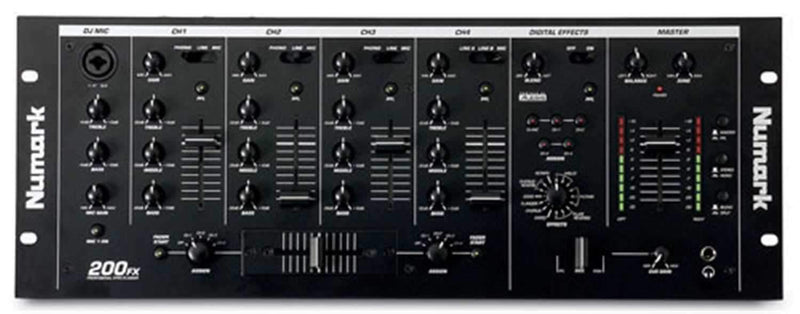 Numark 200FXMKII 19-In DJ Mixer with Vocal Effects - PSSL ProSound and Stage Lighting
