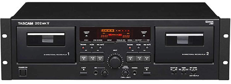 Tascam 202-MKV Dual Well Cassette Decks - PSSL ProSound and Stage Lighting
