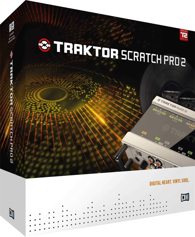 NI Traktor Scratch Pro 2 Hardware Upgrade - PSSL ProSound and Stage Lighting