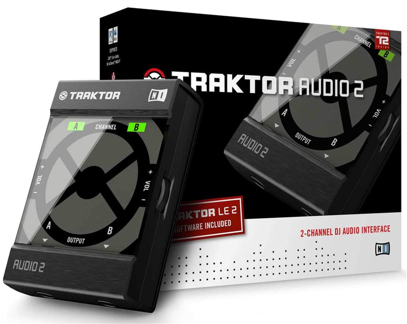 NI Traktor Audio 2 DJ Audio Interface - PSSL ProSound and Stage Lighting
