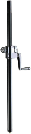 K&M 2133900055 Pro Heavy Duty Crank Speaker Pole - PSSL ProSound and Stage Lighting