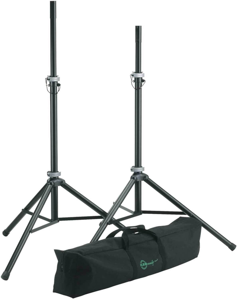 K&M 21459 Pro Speaker Stand An Dlx Road Bag Pack - PSSL ProSound and Stage Lighting