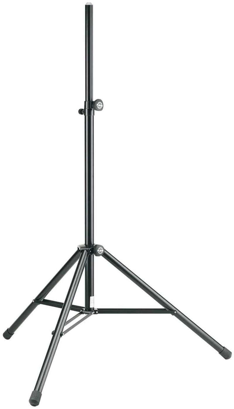 K&M 2146017755 Professional Speaker Stand - Black - ProSound and Stage Lighting