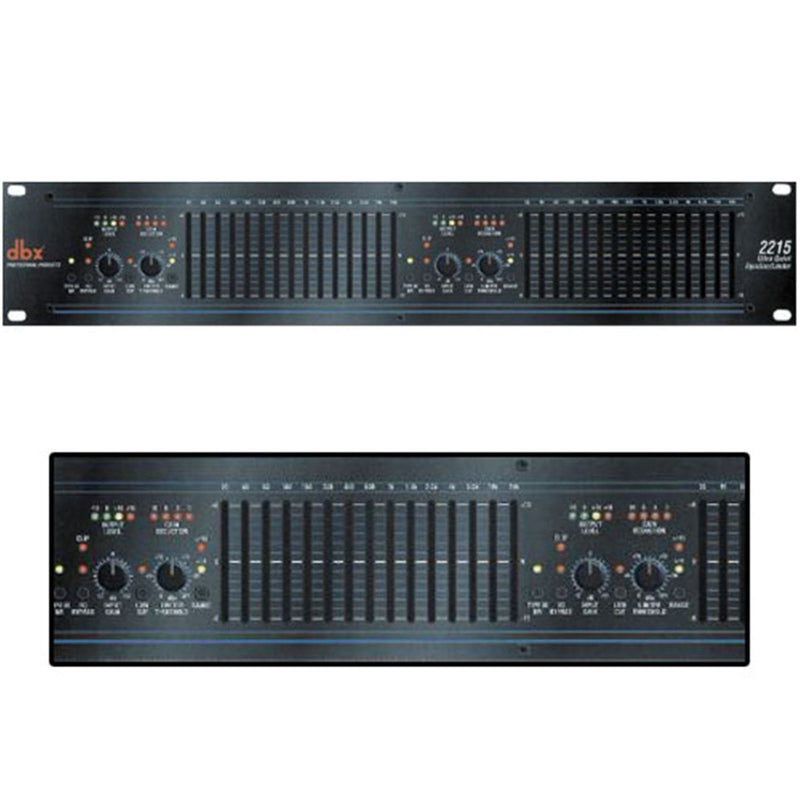 Dbx 2215 Octave Dual15 Band Graph Equalizer - ProSound and Stage Lighting