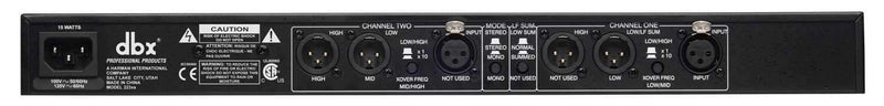 DBX 223XS Stereo 2 Way Stereo PA Crossover - PSSL ProSound and Stage Lighting