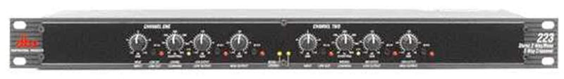 DBX 223 2-Way Stereo / 3-Way Mono Crossover - PSSL ProSound and Stage Lighting
