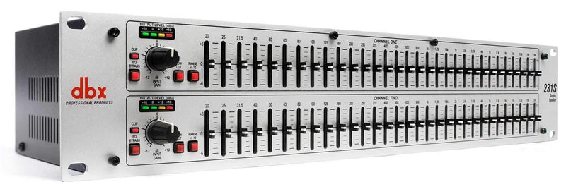 DBX 231S Dual 31 Band Graphic EQ - ProSound and Stage Lighting