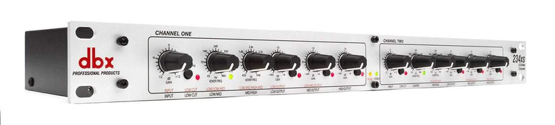 DBX 234XS 2/3-way Stereo 4-way Mono Crossover - ProSound and Stage Lighting