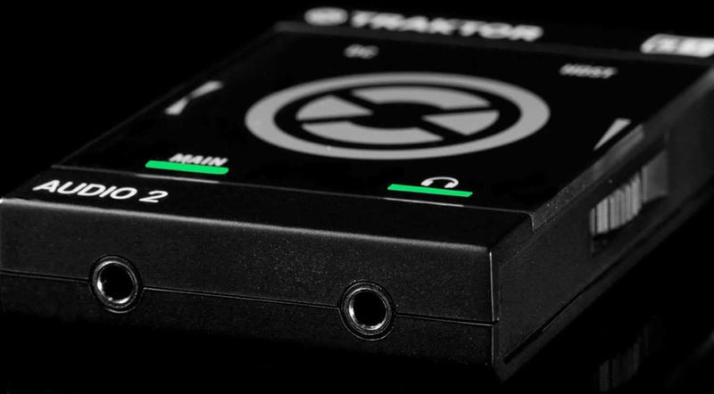 Native Instruments Traktor Audio 2 MK2 Ultra Compact DJ Soundcard - PSSL ProSound and Stage Lighting