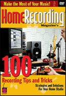 Hal Leonard 2500509 100 Tips - Video Production - PSSL ProSound and Stage Lighting