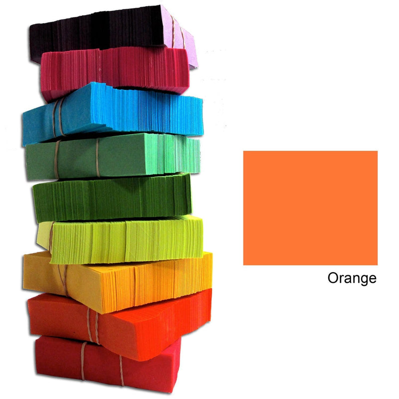 CITC Confetti Stacks 1 lb - Orange - PSSL ProSound and Stage Lighting