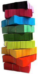 CITC Confetti Stacks 1 lb - Rainbow - ProSound and Stage Lighting