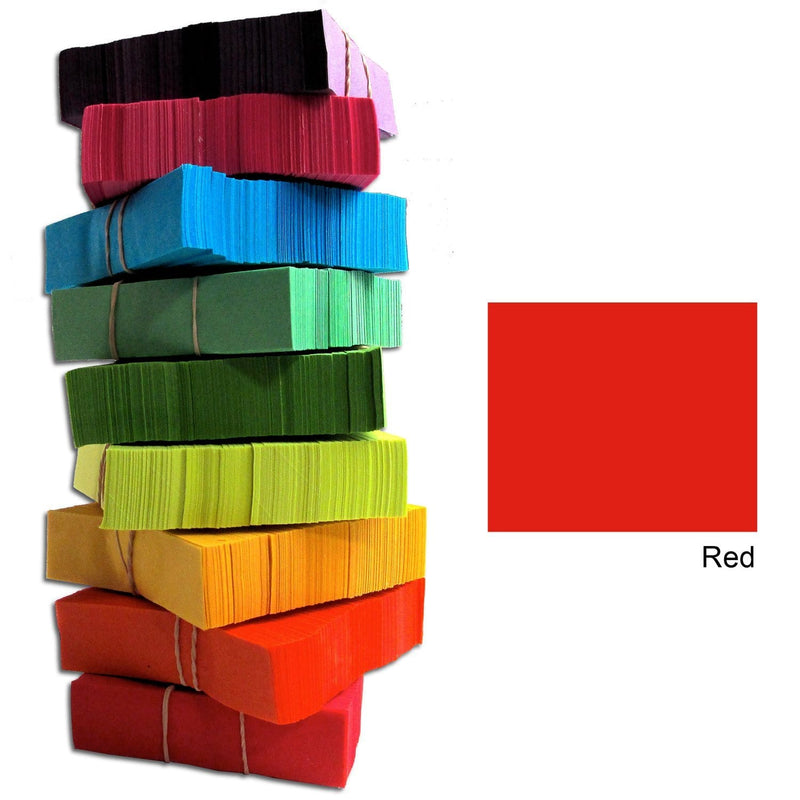 CITC Confetti Stacks 1 lb - Red - PSSL ProSound and Stage Lighting