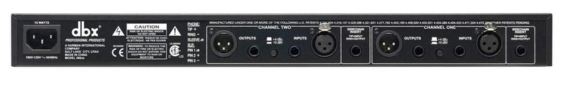 DBX 266XS 2-Channel Compressor Gate - PSSL ProSound and Stage Lighting