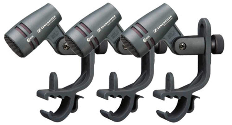 Sennheiser E604 Cardioid Dynamic Mic 3-Pk with Clip - PSSL ProSound and Stage Lighting