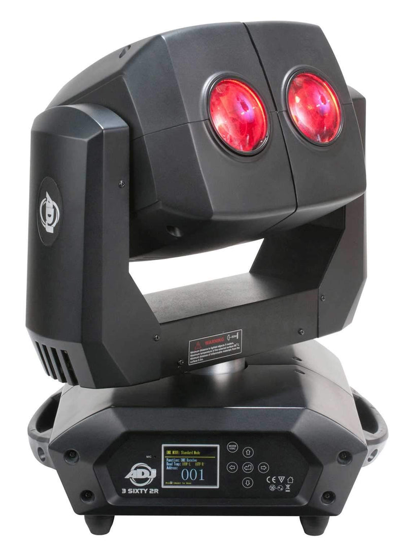 ADJ American DJ 3 Sixty 2R Dual Moving Head Light - PSSL ProSound and Stage Lighting