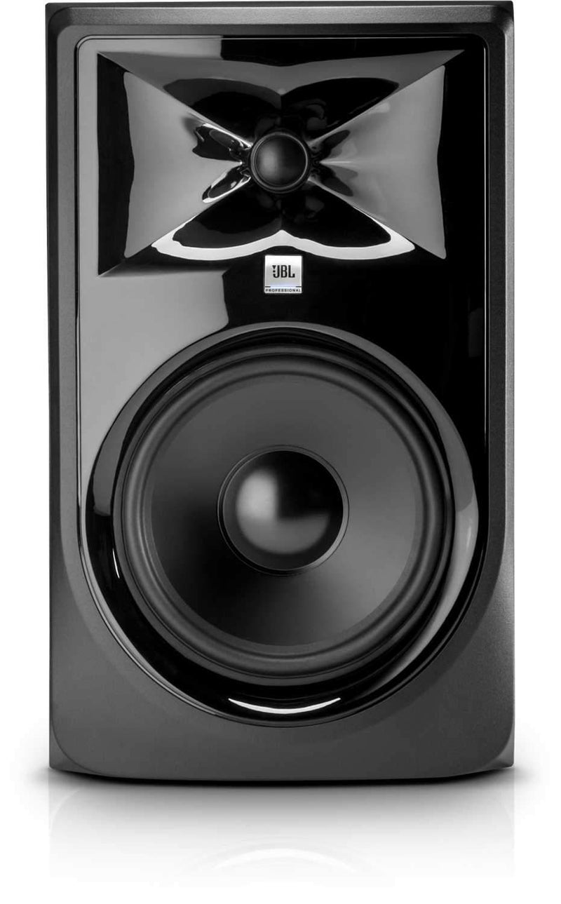 JBL 3 Series 308P MKII 8-inch Powered Studio Monitor (single) - ProSound and Stage Lighting