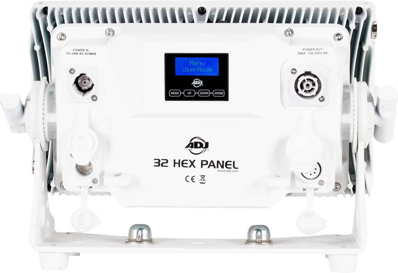 ADJ American DJ 32 Hex Panel IP Pearl 32 x 12W LED IP65 Wash in White - ProSound and Stage Lighting