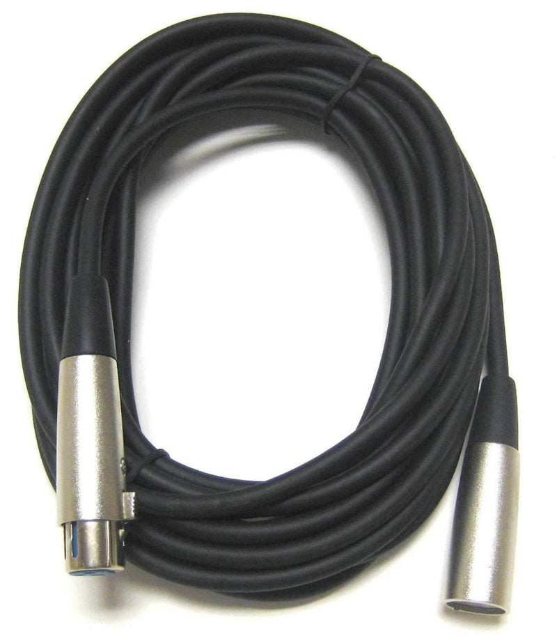 On Stage Economy Microphone Cable 20Ft XLR to XLR - PSSL ProSound and Stage Lighting