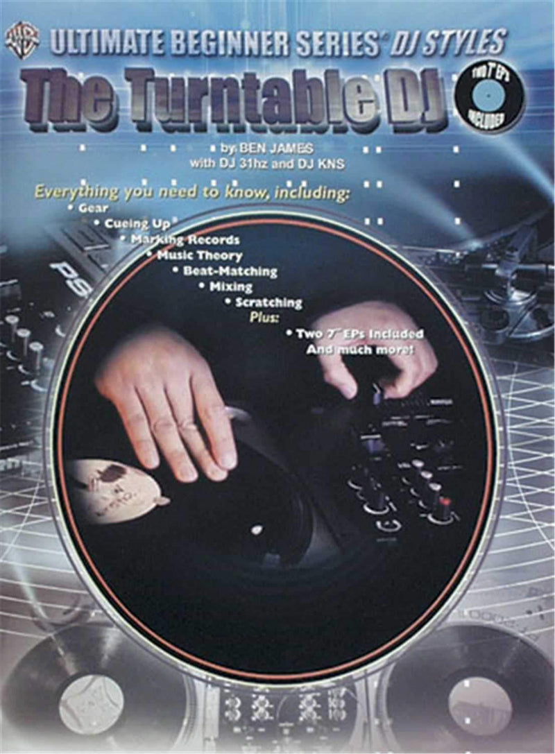 Alfred Publishing The Turntable DJ - Book with Two 7-Inch LPS - PSSL ProSound and Stage Lighting