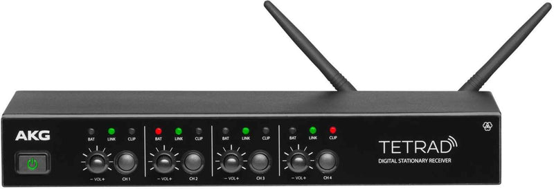 AKG DSR Tetrad Digital Stationary Receiver - ProSound and Stage Lighting