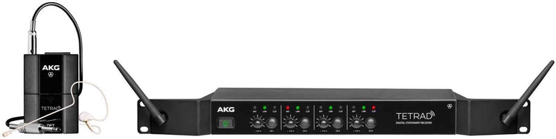 AKG DMS TETRAD Digital Wireless Performance Set - ProSound and Stage Lighting