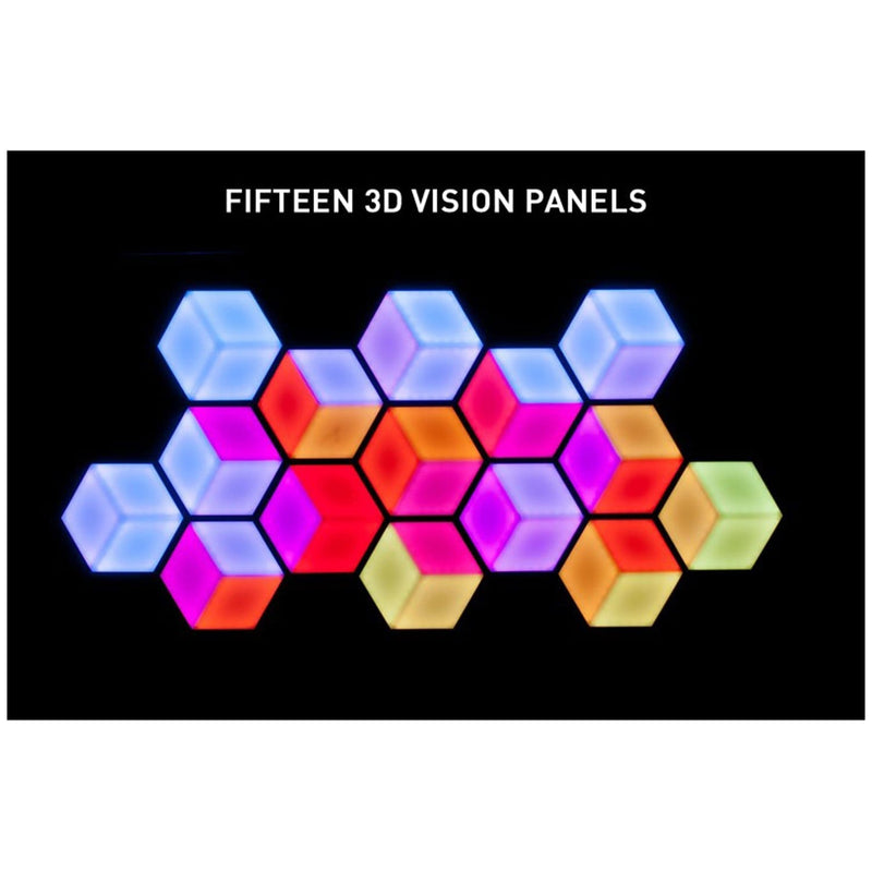 ADJ American DJ 3D Vision Plus Hexagonal LED 3D Effect Panel - PSSL ProSound and Stage Lighting