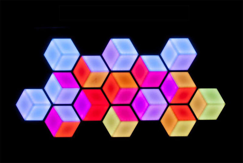 ADJ American DJ 3D Vision 3D LED Hexagon Panel - PSSL ProSound and Stage Lighting