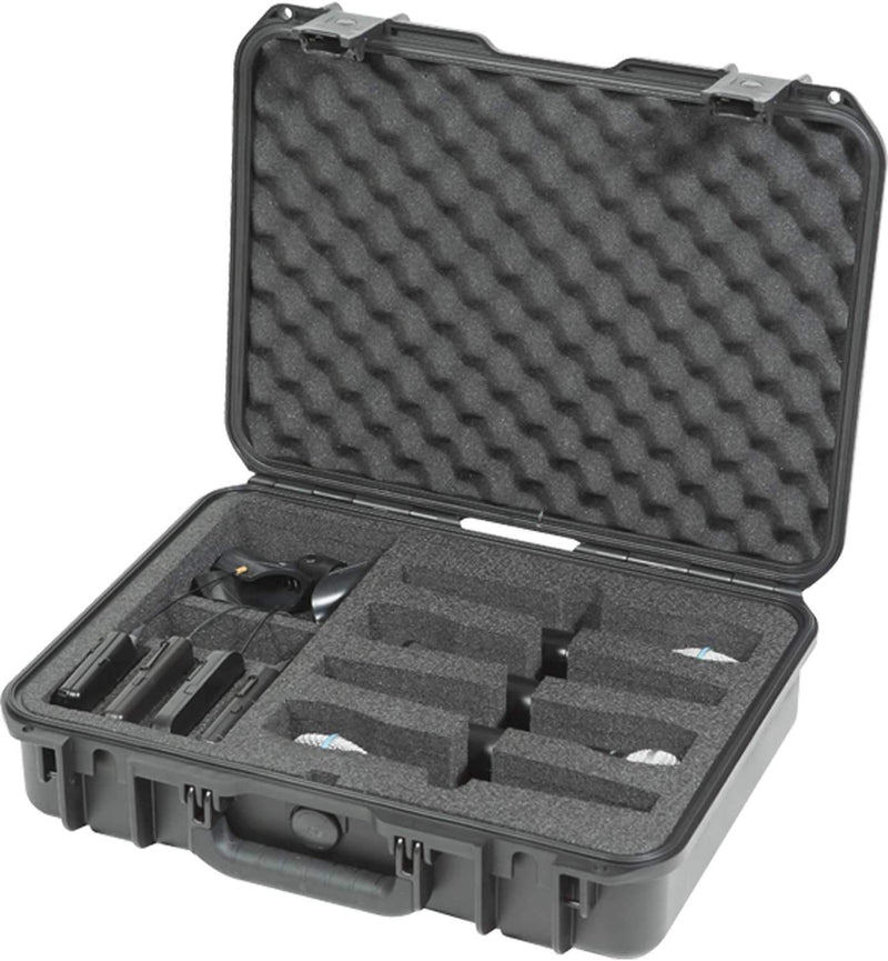 SKB 3i-1813-5WMC iSeries Waterproof (4) Wireless Mic Case - PSSL ProSound and Stage Lighting
