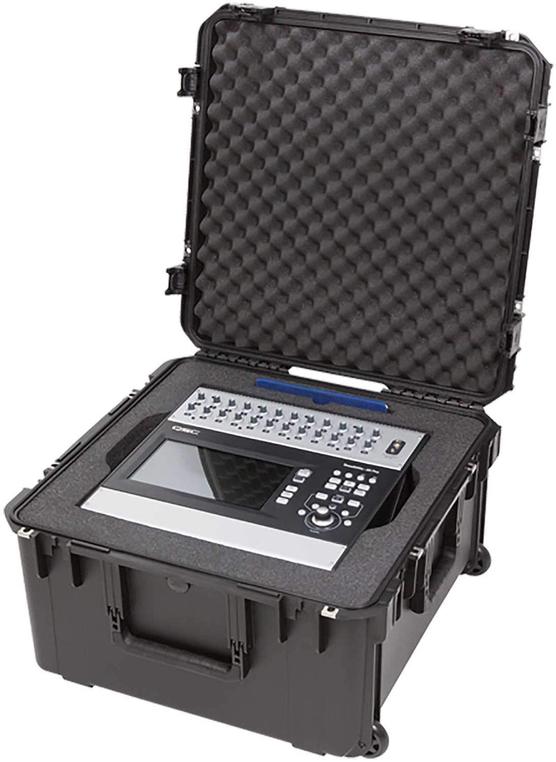 SKB 3i2222-12QSC iSeries Molded Case for QSC Mixer - PSSL ProSound and Stage Lighting