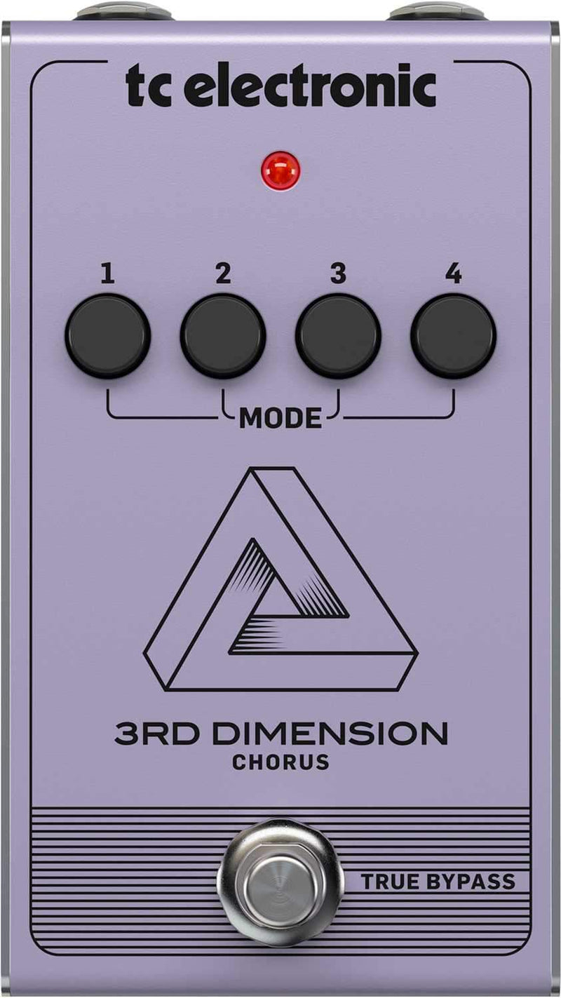 TC Electronic 3rd Dimension Chorus Guitar Stompbox - PSSL ProSound and Stage Lighting