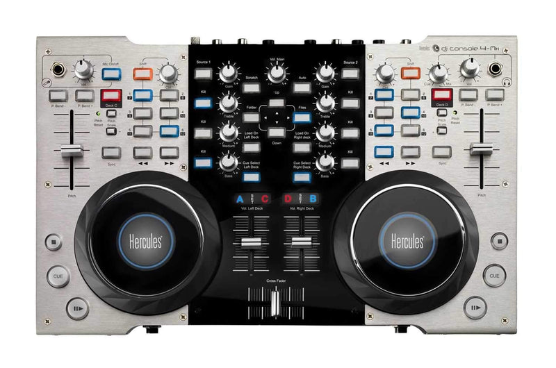 Hercules DJ CONSOLE 4-MX 4-Deck DJ Controller - PSSL ProSound and Stage Lighting