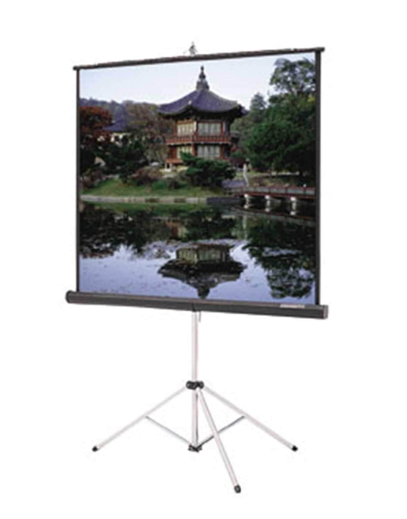 Dalite 72 Glass Beaded Tripod Video Screen - PSSL ProSound and Stage Lighting