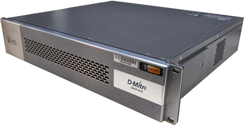 Meyer Sound DAIO-816 Analog I/O Module for D-Mitri - ProSound and Stage Lighting