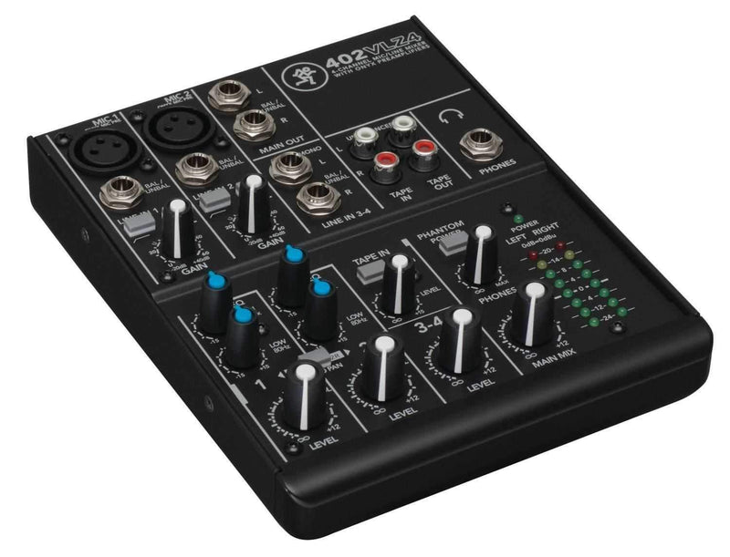 Mackie 402VLZ4 4-channel Compact Analog PA Mixer - PSSL ProSound and Stage Lighting
