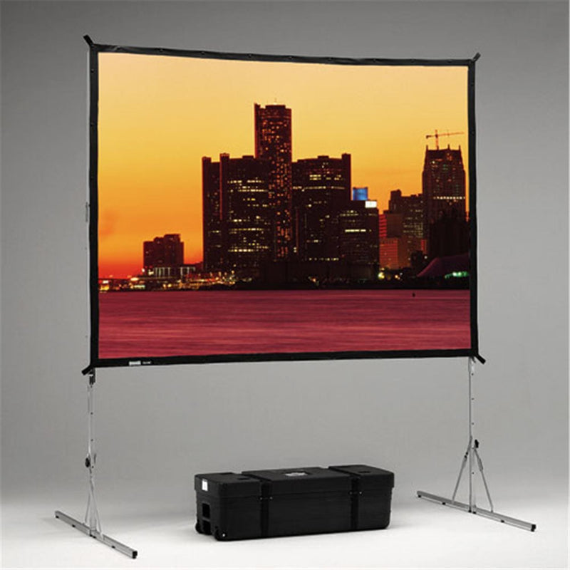 DALITE 40451 8' X 12' Fastfold Std Portable Scre - ProSound and Stage Lighting