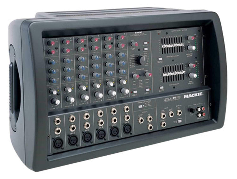 Mackie 406M 6 Channel Powered Pa Mixer - PSSL ProSound and Stage Lighting