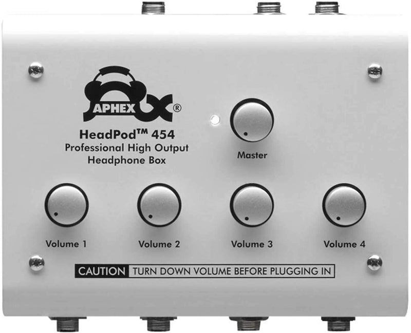 Aphex 454 High Output Headphone Amplifier - PSSL ProSound and Stage Lighting