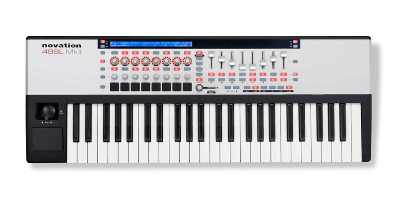 Novation 49-SL-MKII 49 Key USB Midi Keyboard - PSSL ProSound and Stage Lighting