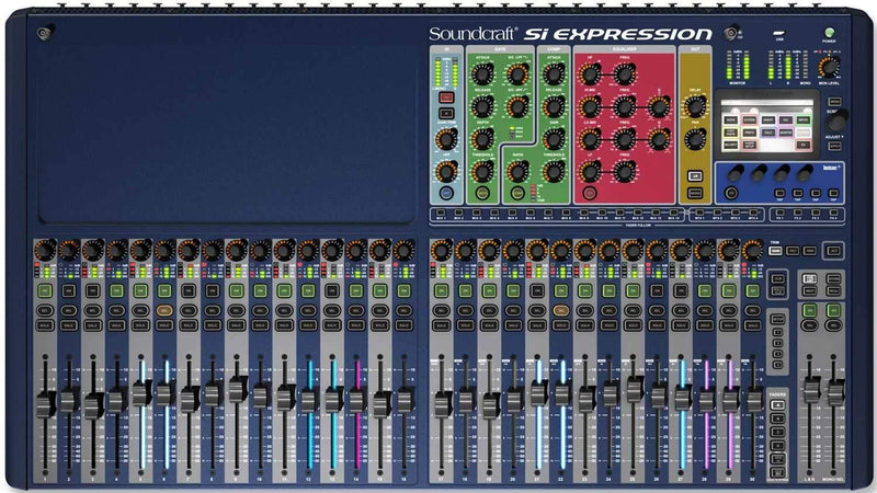 Soundcraft SI Expression 3 32ch Digital Mixer - PSSL ProSound and Stage Lighting