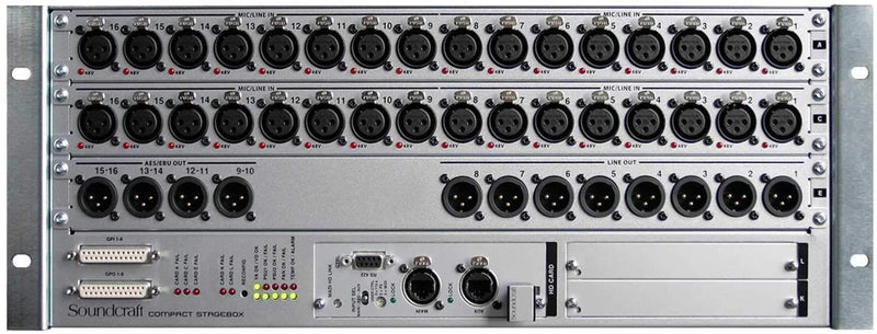 Soundcraft Compact Stagebox 32 Input I/O Expansion - PSSL ProSound and Stage Lighting